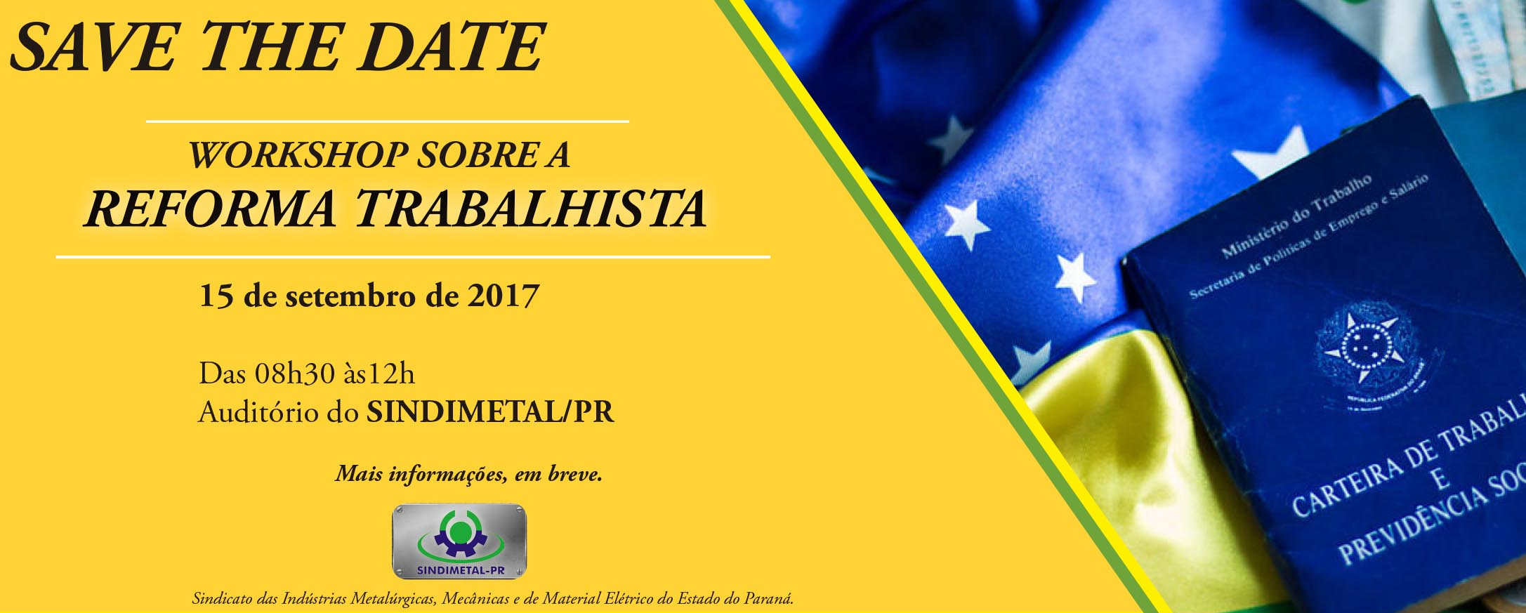 1-SAVE DATE WORKSHOP REFORMA TRABALHISTA 2